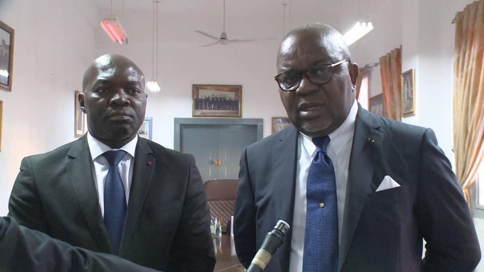 Le Président exécutif du FUGEPAC, reçu par le Ministre de l Enseignement Supérieur du Congo.